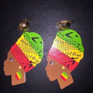 African Goddess Earring